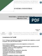Unidad 1 Conceptos de La Administracion de Proyectos