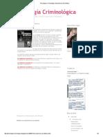 Psicología Criminológica_ Mecanismos de Defensa