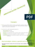 Administración Gerencial
