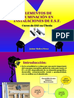 ILUMINACIÓN EN ESF