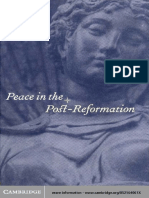 32344701 John Bossy 1995 Peace in the Post Reformation the Birkbeck Lectures
