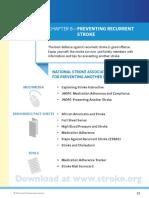 preventing reccurent stroke