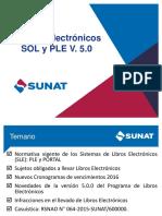 Libros Electronicos SOL PLE 22052016