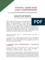 Desenvolvimento,capitalsocial,redessociaisesustentabilidade