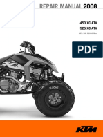 2008 KTM Quad 450/525 XC ATV