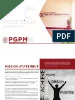 Program Architecture 2015
