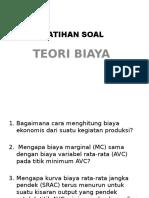 Soal Teori Biaya - Salin