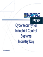 Cybersecurity for ICS Industry Day Presentation - NAVFAC