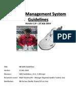 PP QMS Guidelines Manual V1 0 15 July 2014