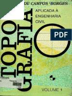 Topografia Aplicada A Engenharia Vol 1; Borges (Marcadores, Fundo Branco).pdf