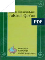 Selections from Akram Khans Tafsirul Quran.pdf