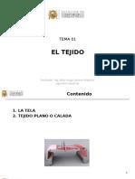 2016-01 Tema 01 Tejido Plano - El Tejido