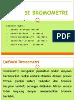 TITRASI BROMOMETRI