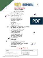 Unit 11 My Favorite Day - Lyrics.pdf