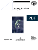 Botany Bearded Greenhood Pterostylis Species Recovery Plan