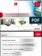 Rockwell Manufacturing Cloud