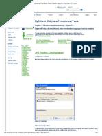 MyEclipse Java Persistence Tools _ Toplink _ OpenJPA _ Hibernate _ or Tools