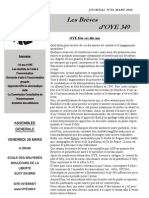 Journal N°16 - OYE349 Final