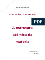 A Estrutura Atómica Da Matéria