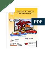 Transportation - Best Practices Manual