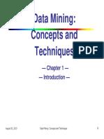 Data Mining 1 30.08.13