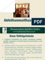 Kelas Abhidhamma (4)