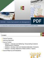 cm1002 - home improvement job management