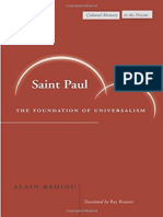 Saint Paul - The Foundation of Universalism