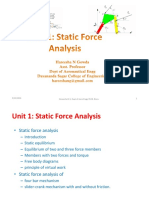 Unit-1- Static Force Analysis