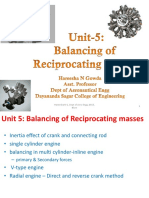 Unit-5- Balancing of Reciprocating Masses