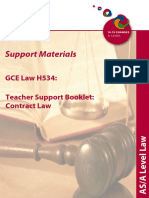67498 Units g155 and g156 Teacher Guide Law of Contract