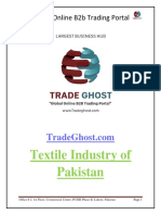 Textile Industry of Pakistan - B2B Marketplace