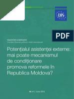 Potențialul asistenței externe