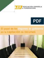 El papel de los organos de gobierno en captacion de recursos