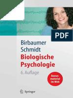 Niels Birbaumer - Biologische Psychologie, 6. Auflage, 2006