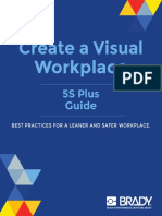 Create Visual Workplace 5S-Plus Guide