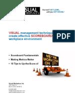 Visual Management Scoreboards