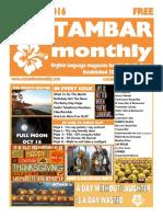 Costambar Monthly October 2016