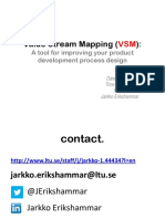 Value_Stream_Mapping_VSM - Jarkko Erikshammar
