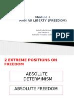 Module 3 Man as Liberty Power Point-1