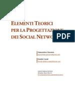 Elementi Teorici per la Progettazione dei Social Network (1 0) 20070924