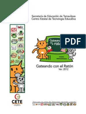 Cuadernillo Gateando Con El Ratón Ver 2012   Ciencia y Tecnología ...