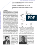 A Strategy for Constructing Photosynthetic Models Porphyrin-containing