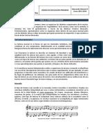 Educación Musical II - FORMAS MUSICALES