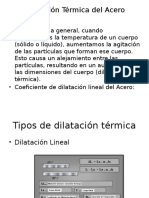 Dilatación Térmica del Acero.pptx