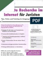 Seminar Effiziente Recherche im Internet für Juristen