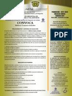 Convocatoria Cemafyd 2017-2020