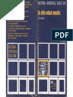Dhondt, Jan - La Alta Edad Media, Ed. Siglo XXI, Madrid, 1979