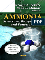 Ammonia - Structure, Biosynthesis and Functions (2012)
