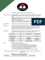 Bobbin Probe Technical Specifications